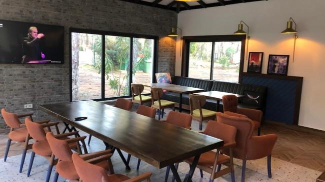 Kamping restaurant açılıyor