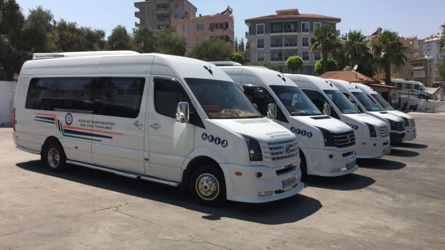 Site yönetiminden ücretsiz minibüs