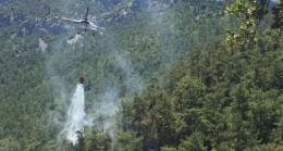 Datça' da Orman Yangını