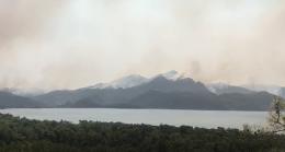 Marmaris yangınından son görüntüler