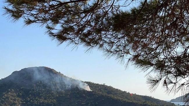 Datça Aktur'da yangın! Yönetimden uyarı