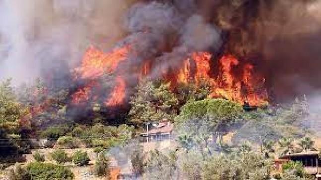 Aktur AŞ'den yangınla mücadele ekiplerine destek